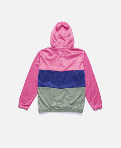 Tier Drop Zip Up Track Jacket (Pink)