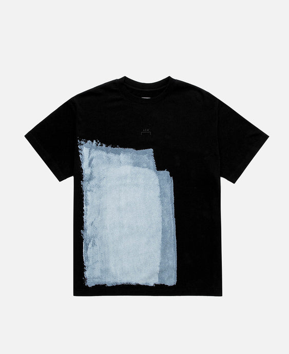 Block Painted T-Shirt (Black)