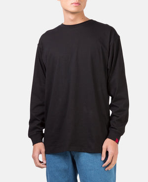 AFTER PARTY L/S TEE (BLACK)