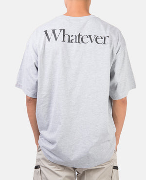 WHATEVER TEE (GREY)