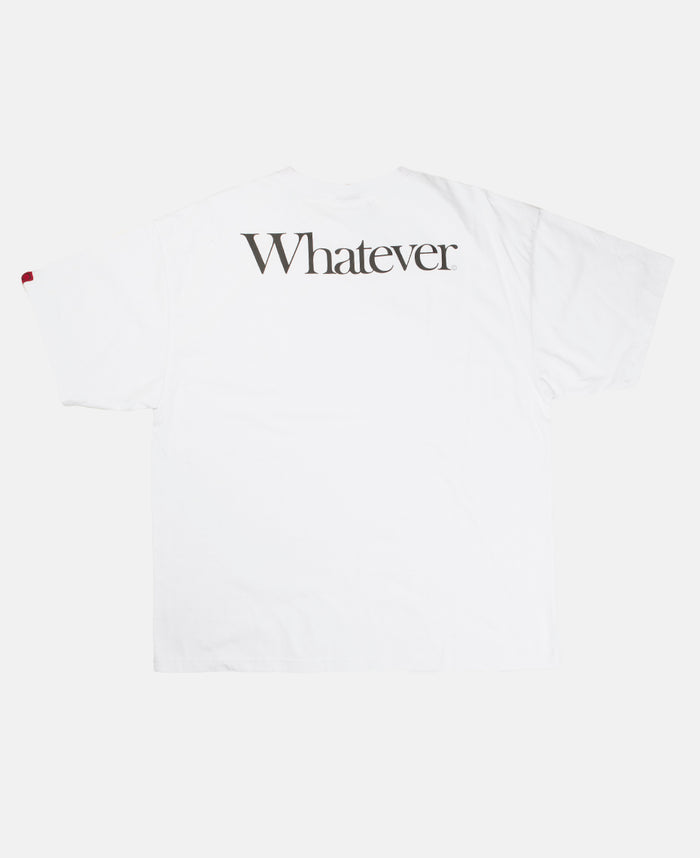 WHATEVER TEE (WHITE)