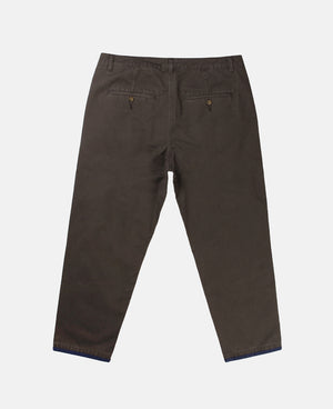 ANKLE LENGTH CHINO PANTS (GREY)