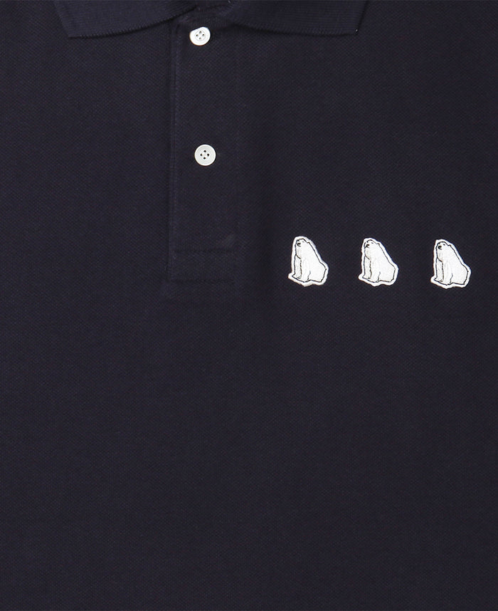 BEAR PATCH POLO TEE