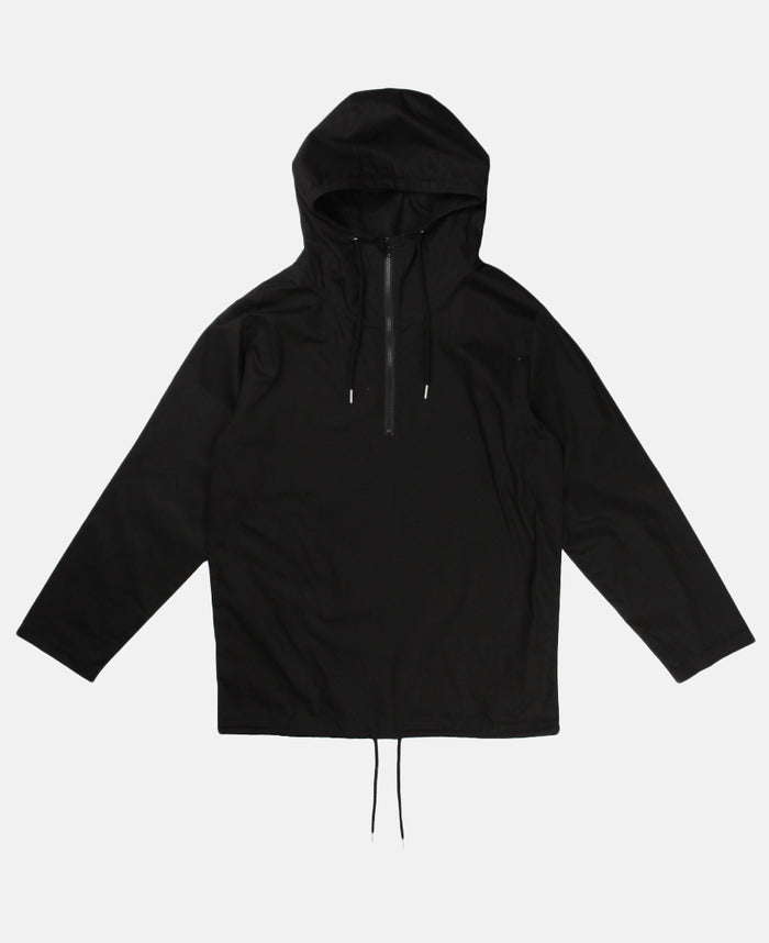 LAYER ZIP UP ANORAK (BLACK)