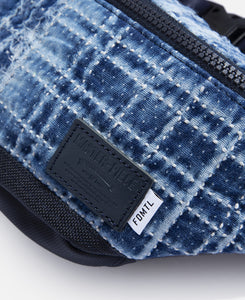Sashiko Waist Bag (Navy)