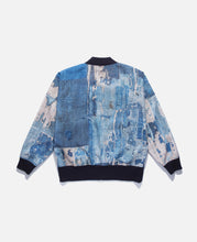 Oversized Bomber Jacket (Navy)