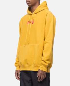 Distorted Logo Hoodie (Yellow)