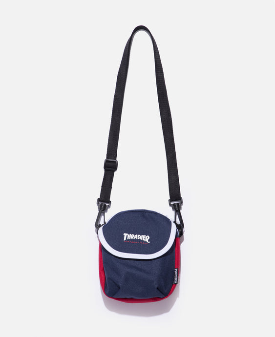 Hometown Flap Shoulder Bag (Navy)