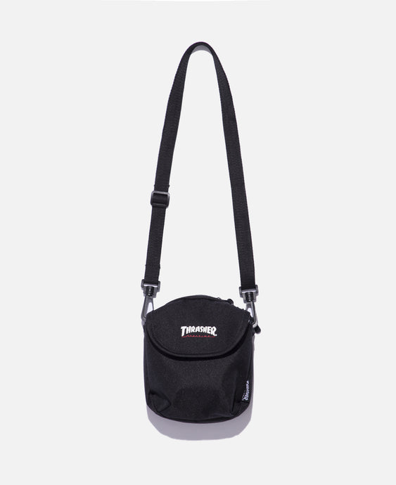 Hometown Flap Shoulder Bag (Black)