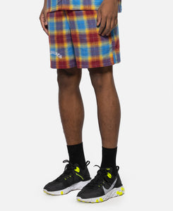 Shadow Plaid Shorts
