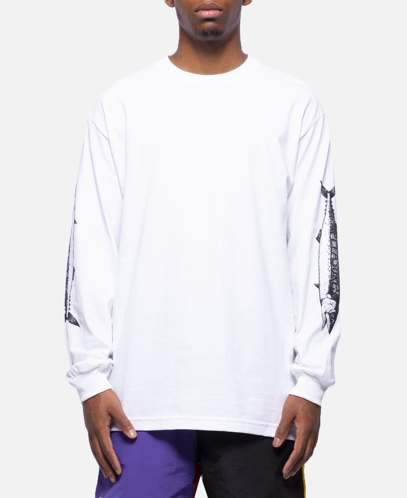 Catch Long Sleeve T-Shirt (White)