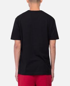 Men's Cotton T-Shirt (Black)