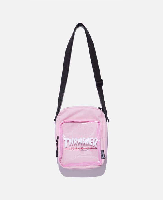 Hometown Clear Shoulder Bag (Pink)
