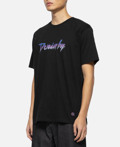 Front Logo Crew Neck T-Shirt (Black)