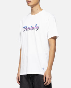 Front Logo Crew Neck T-Shirt (White)