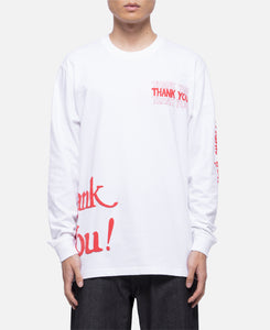 Thank You All Over L/S T-Shirt