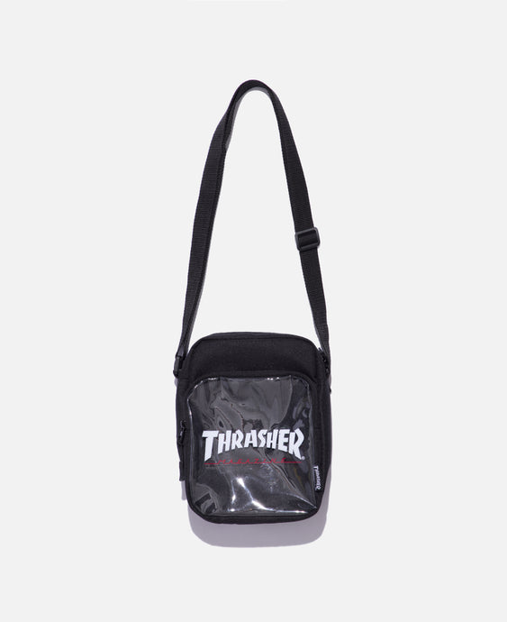 Hometown Clear Shoulder Bag (Black)