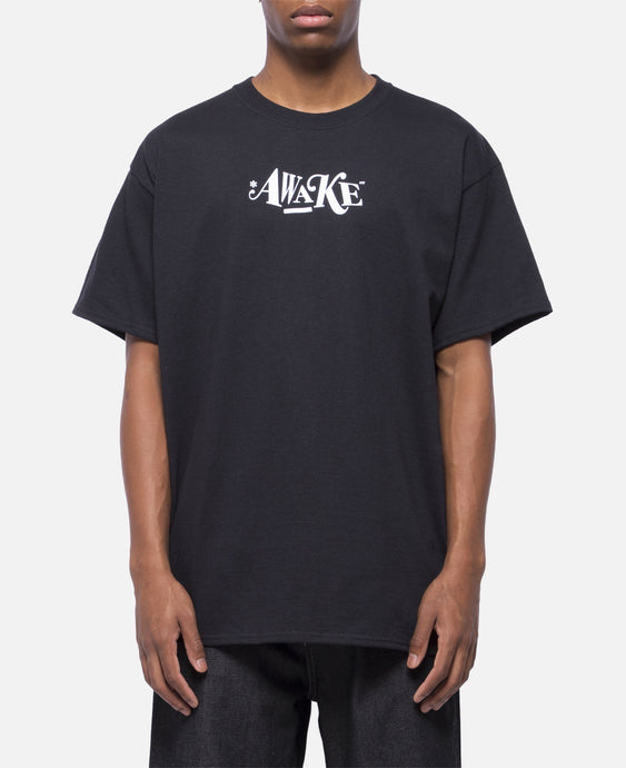 Distorted Logo T-Shirt (Black)