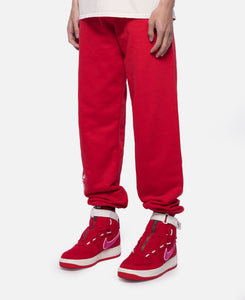 Word Mark Sweatpants (Red)
