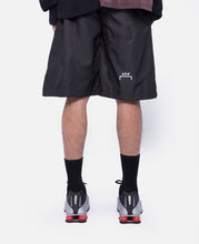 Nylon Logo Shorts (Black)