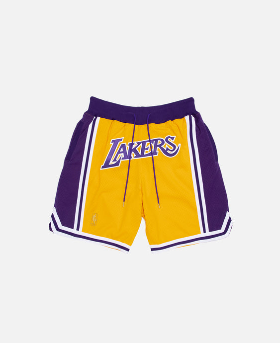 Just Don 96-97 Los Angeles Lakers Mesh Shorts
