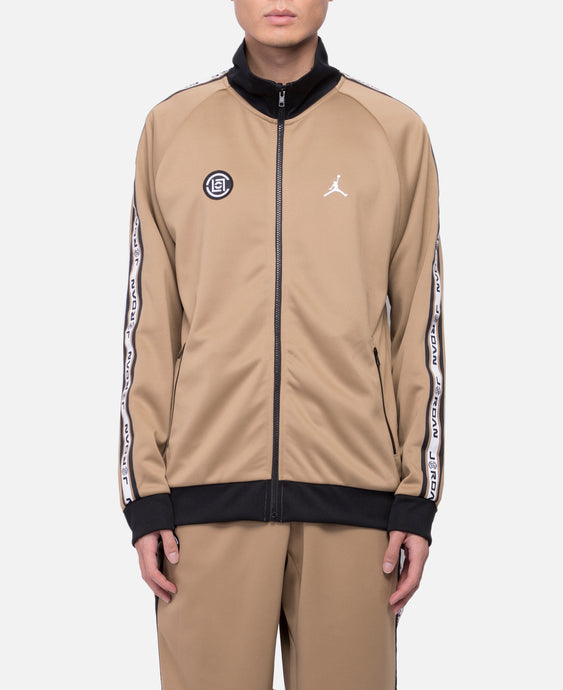 CLOT x Jordan Tricot Jacket (Brown)