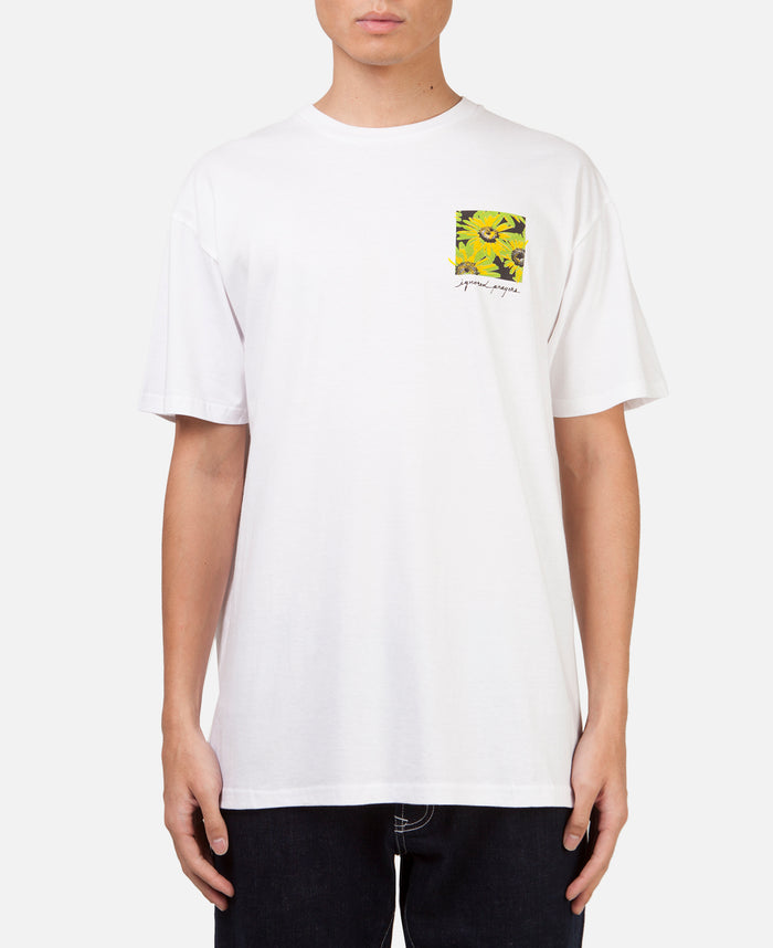 IN BLOOM TEE WHITE