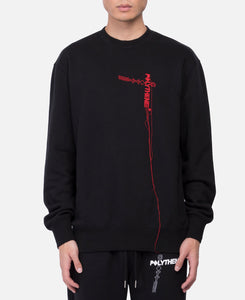 Men's Fleece Sweatshirt (Black)