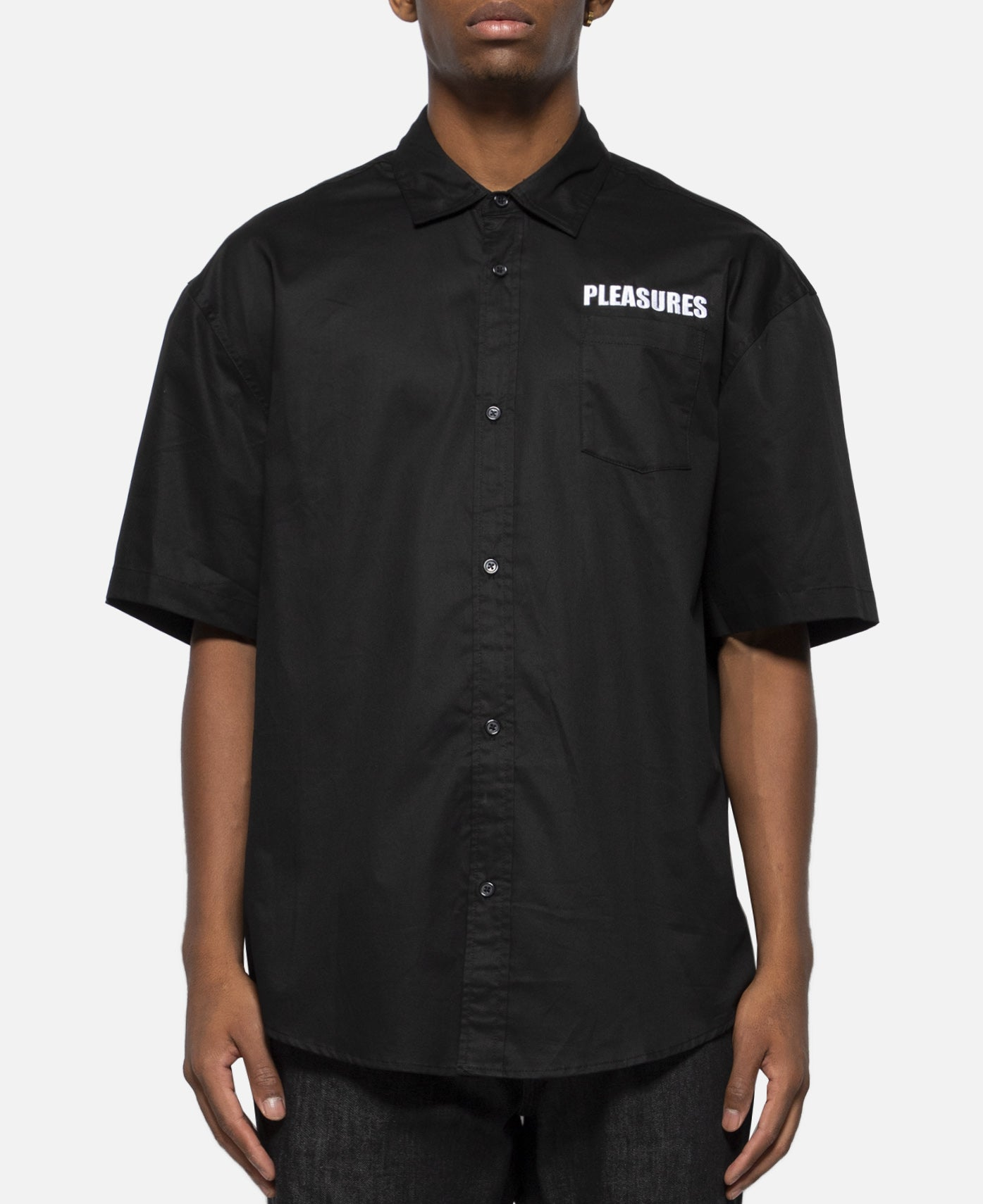 Transformer Short Sleeve Button Up