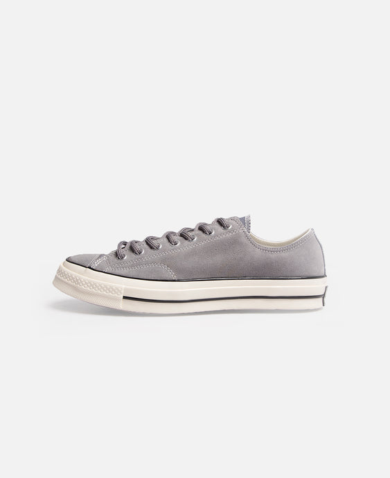 Chuck 70 Suede Low (Grey)