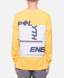 Graphical Nails L/S T-Shirt (Yellow)