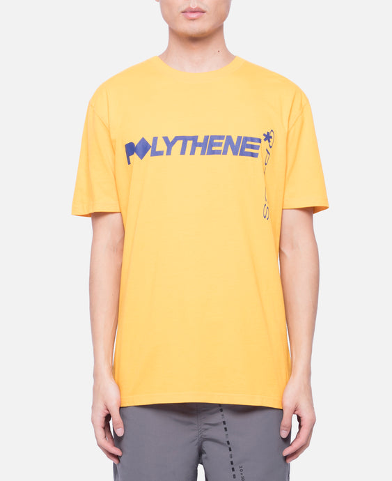 Graphical Pipe T-Shirt (Yellow)