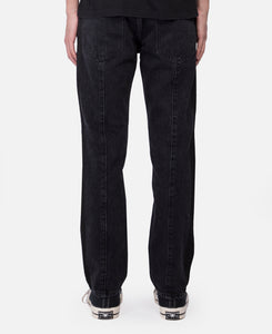 Nobo Denim Stripe Pants (Black)