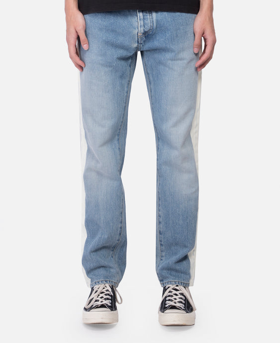 Nobo Denim Stripe Pants (Blue)
