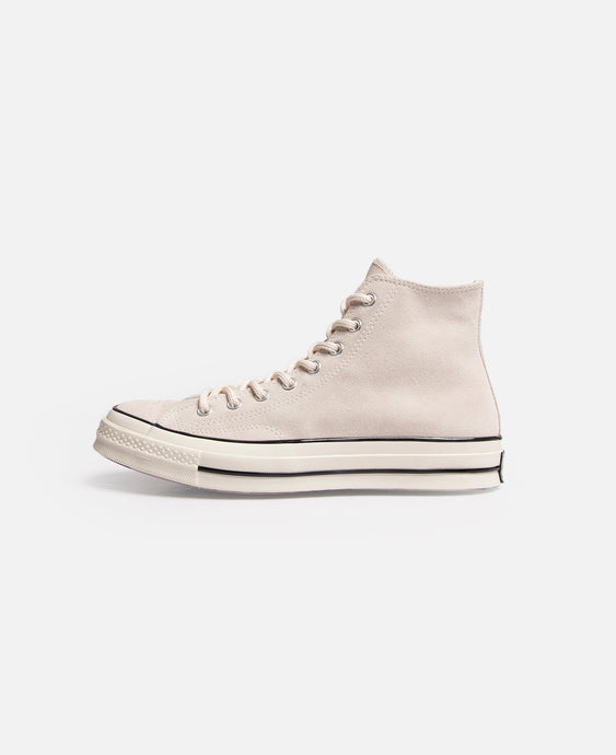 Chuck 70 Suede Hi (Natural Ivory)