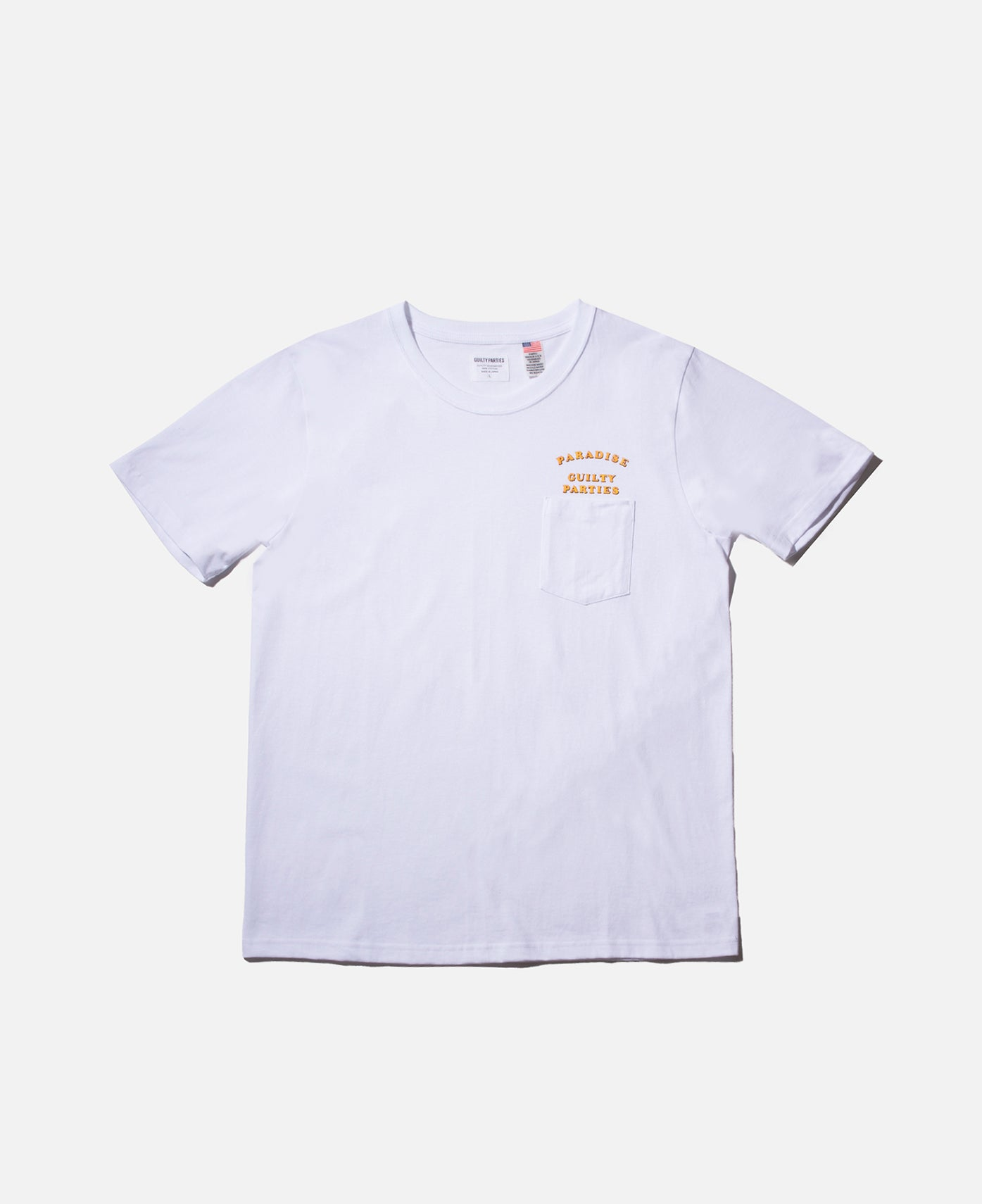 STRAIGHT SYNTH S/S T-SHIRT WHITE