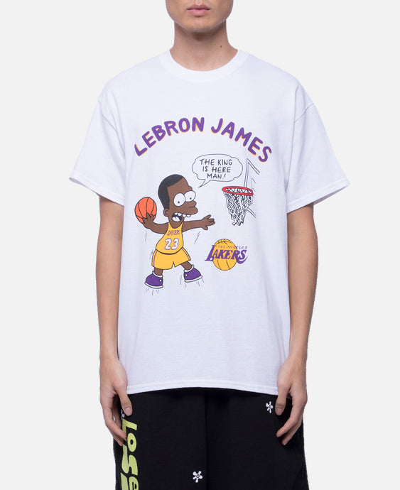 Lebron James T-Shirt (White)