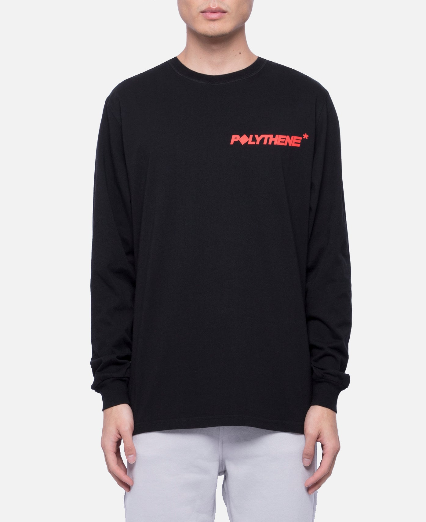 Logo L/S T-Shirts (Black)