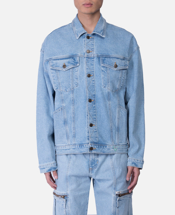 Fall Oversize Graphic Denim Jacket