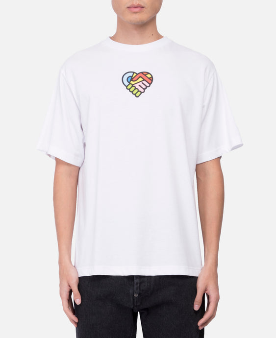Self Love Logo S/S T-Shirt (White)