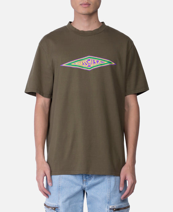 Fall S/S Graphic Logo T-Shirt (Olive)