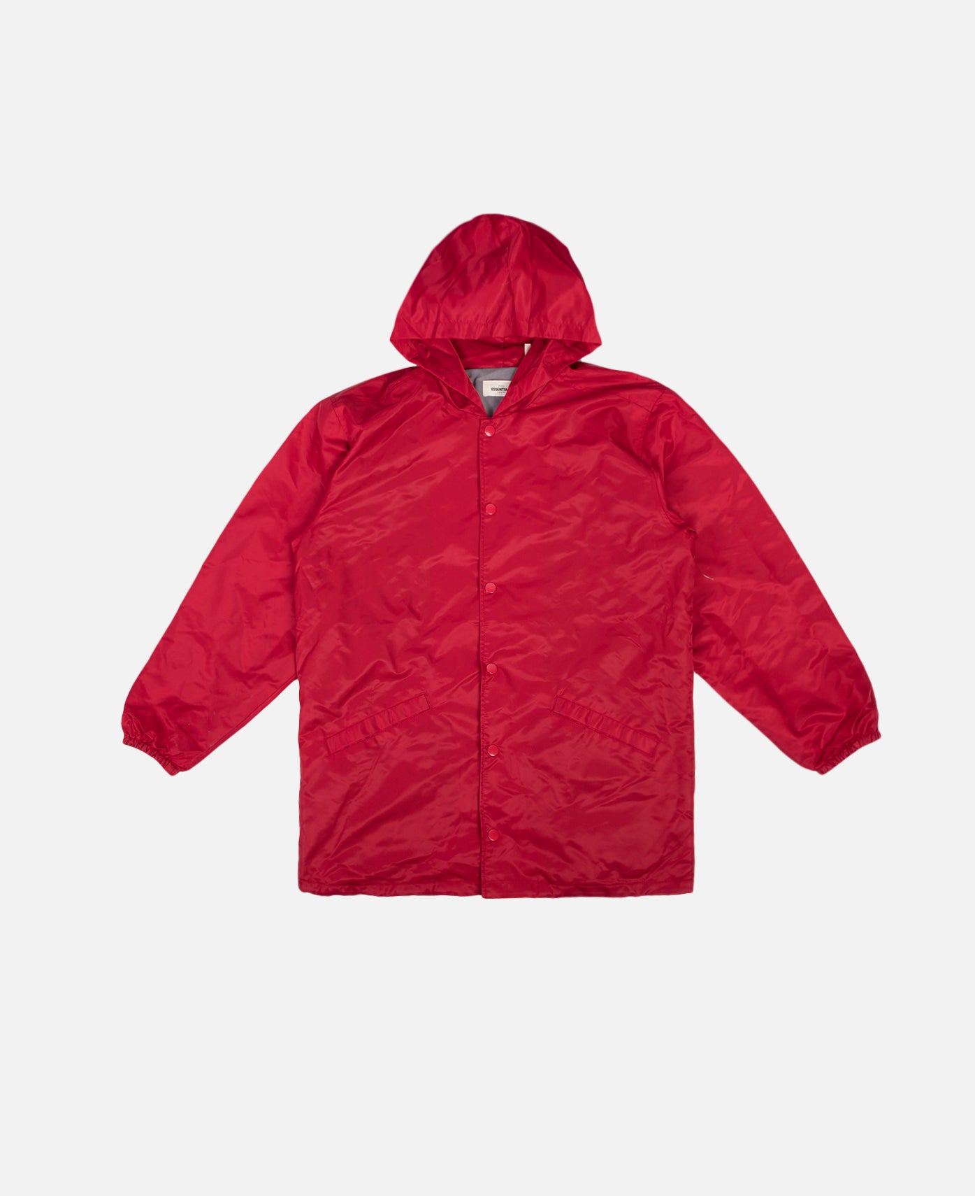 Hooded Coach Jacket (Red)