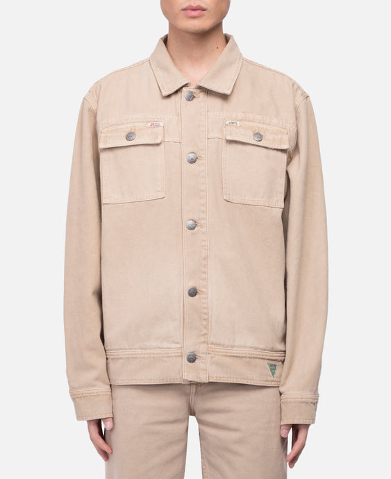 L/S Worker Jacket (Beige)