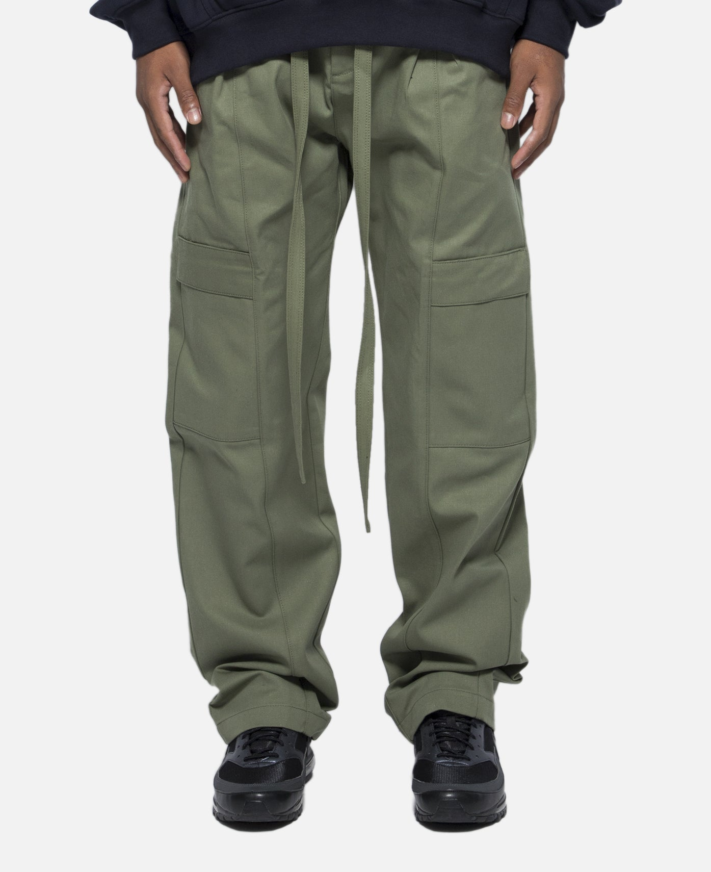 Baggy Cargo Trouser (Green)