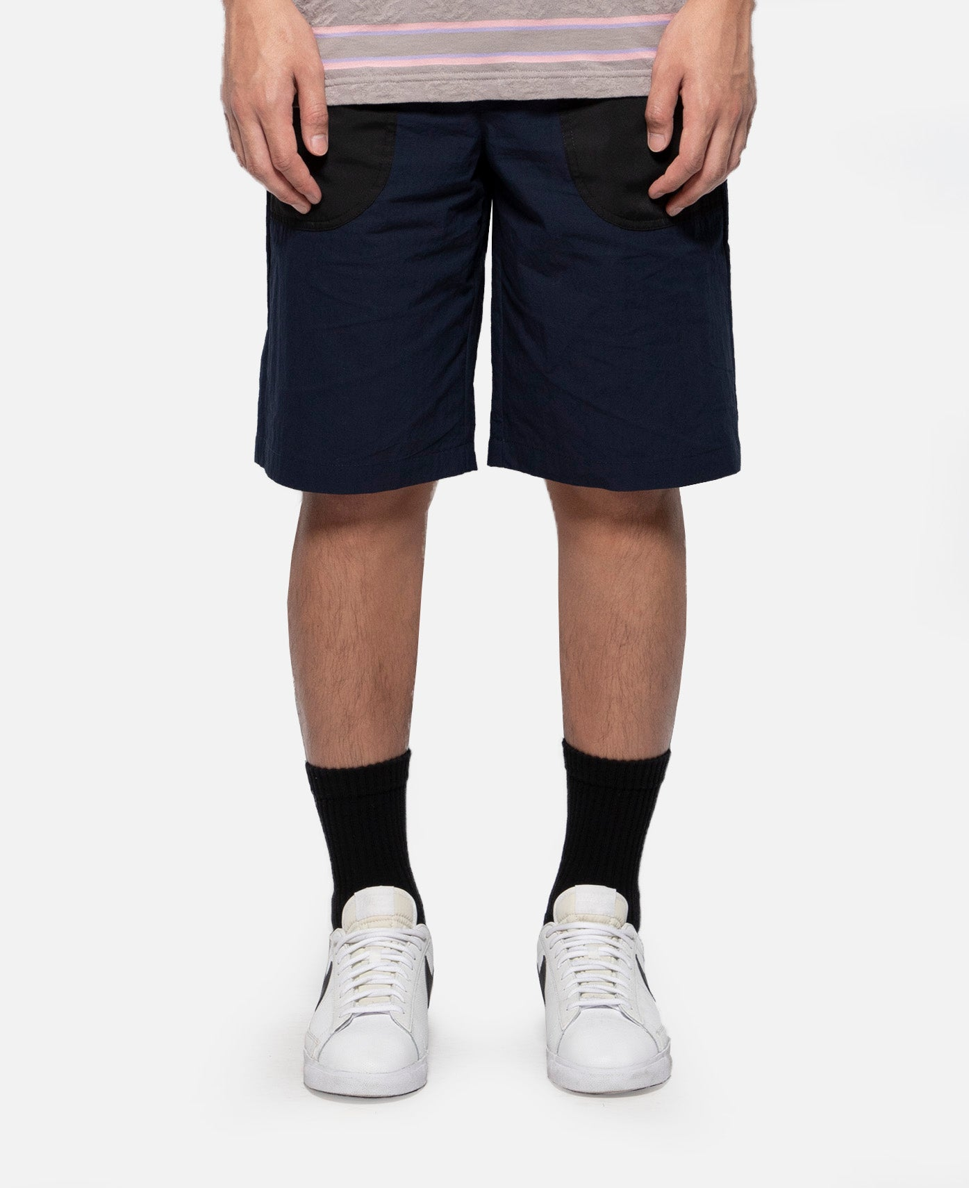 Iso Drawstring Shorts (Navy)