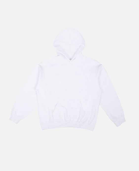 Pull-Over Cap Sleeve Hoodie (White)