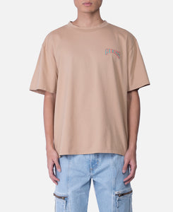 S/S Mountain Graphic T-Shirt (Beige)