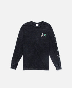 Butz Up L/S T-Shirt (Black)