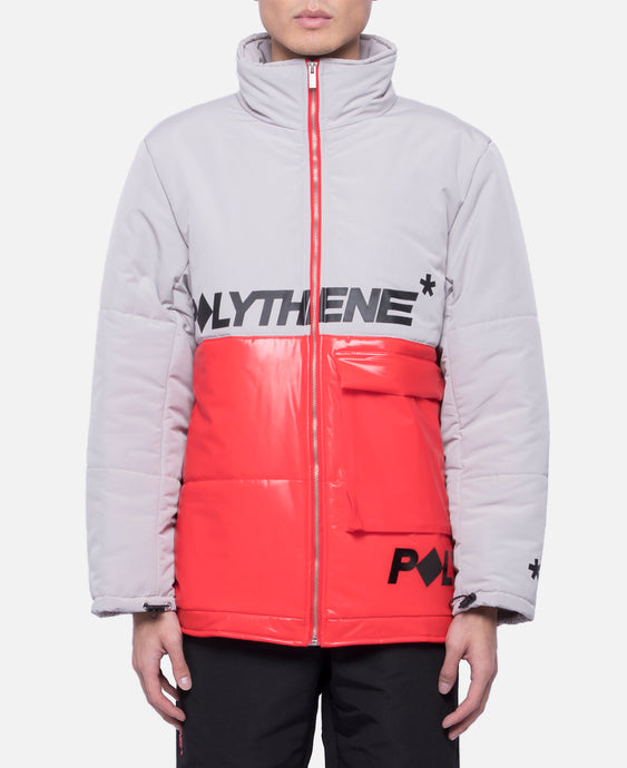 Short Puffa Jacket (Red)
