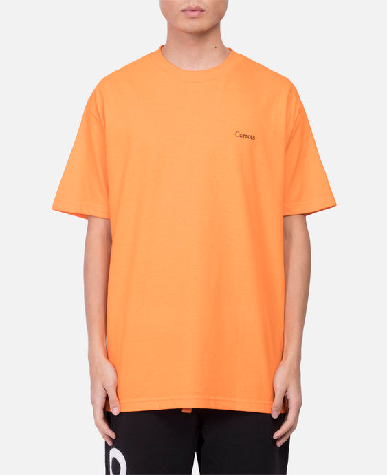 One Hit Word Mark T-Shirt (Orange)